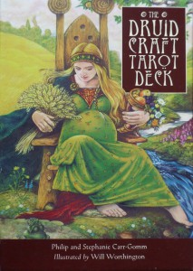 The Druid Craft Tarot Deck von Philip und Stephanie Carr-Gomm & Will Worthington